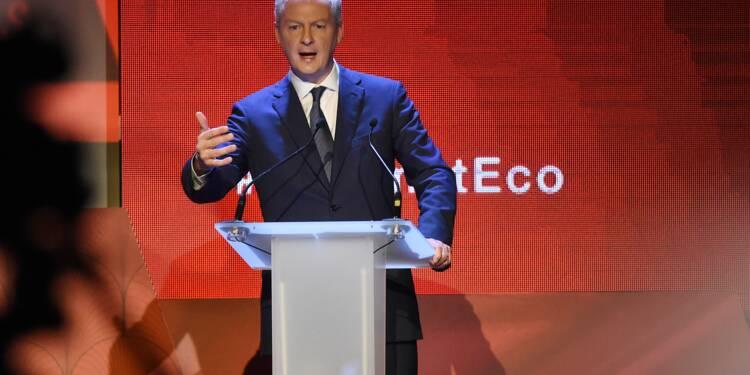 """Les investissements de Huawei """"bienvenus"""" en France pour Bruno Le Maire"""