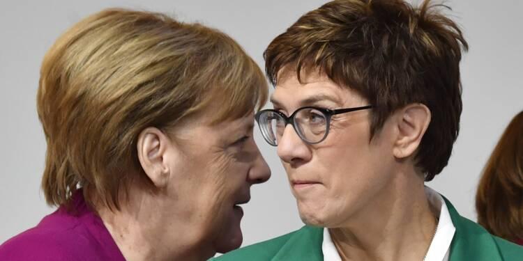Angela Merkel obtient un répit à la chancellerie