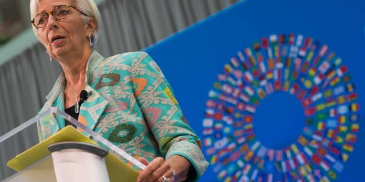 """L'égalité hommes/femmes au travail, """"un processus révolutionnaire"""" selon Christine Lagarde"""
