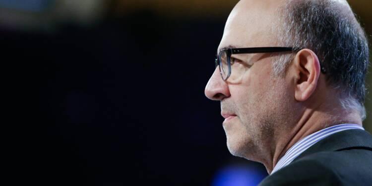 """Dépasser les 3% de déficit, """"envisageable"""" de façon """"exceptionnelle"""" selon Moscovici"""