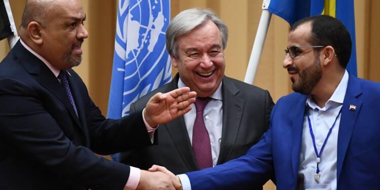 Yémen: l'ONU obtient une trêve dans des régions menacées par la famine