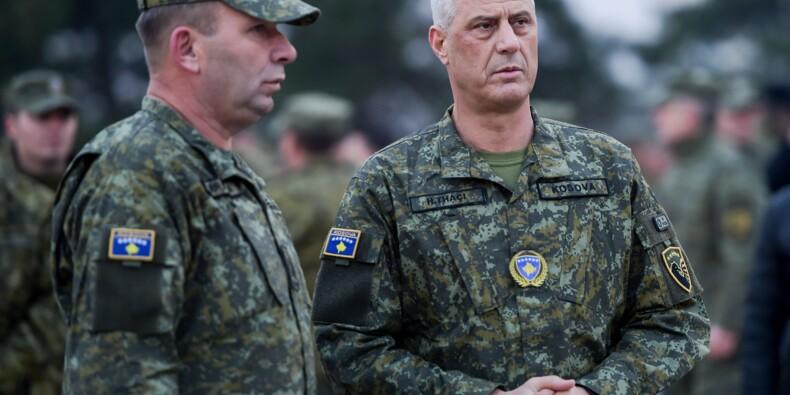 Le Kosovo se dote d'une armée pour affirmer sa souveraineté, colère de Belgrade