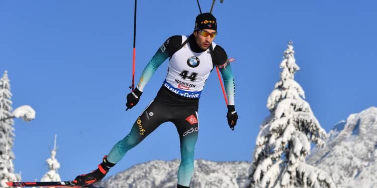Biathlon: Fourcade relève la tête à Hochfilzen