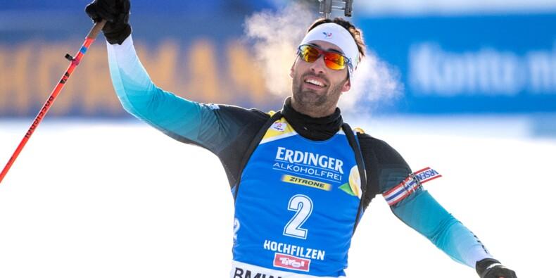 Biathlon: Fourcade, le retour du roi