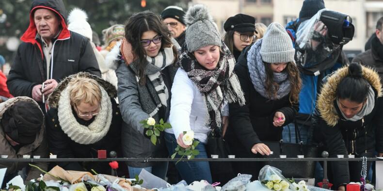 A Strasbourg, un millier de personnes rendent hommage aux victimes de l'attentat