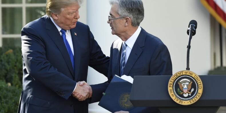 A l'avant-veille d'une hausse des taux, Trump met la pression sur la Fed
