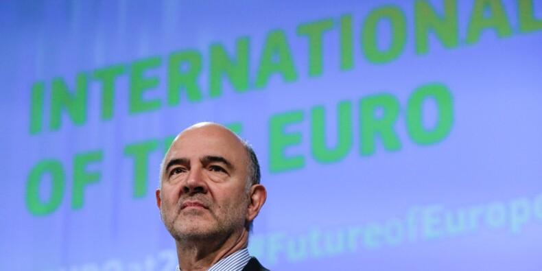"""Numérique: la taxe européenne """"est toujours sur la table"""" pour Moscovici"""