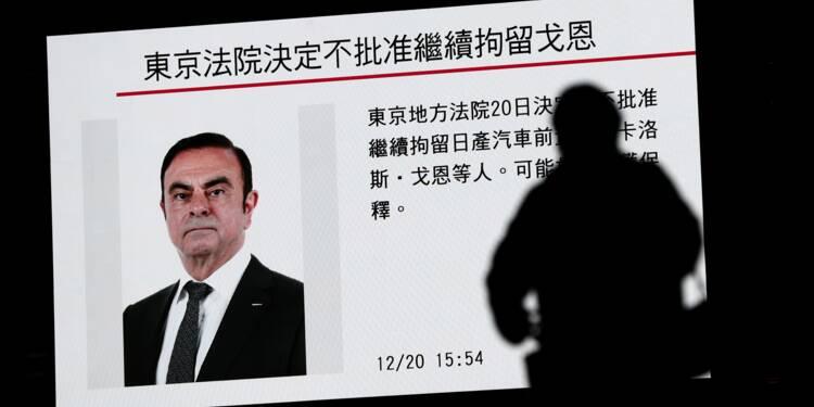 Carlos Ghosn restera derrière les barreaux jusqu'au 1er janvier inclus