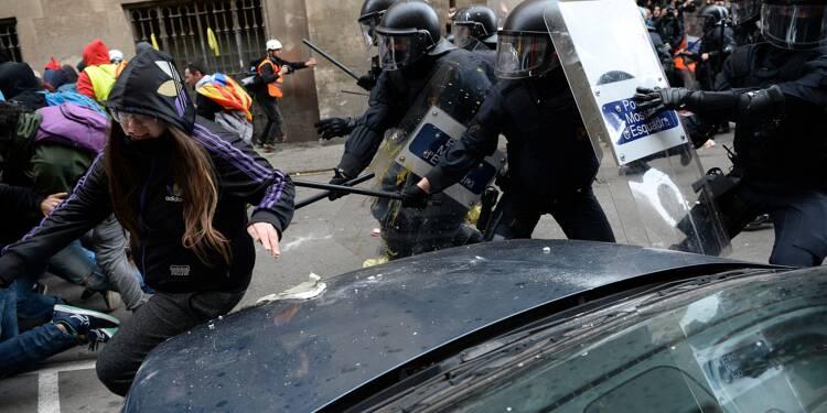Espagne: conseil des ministres sous tension à Barcelone