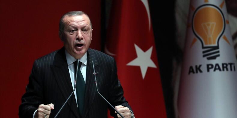 Erdogan invite Trump en Turquie après l'annonce du retrait américain de Syrie