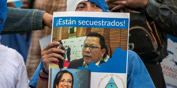 """Nicaragua: une 2e journaliste critique du régime d'Ortega accusée de """"terrorisme"""""""