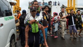 Tsunami indonésien : la pluie entrave les efforts désespérés des secours