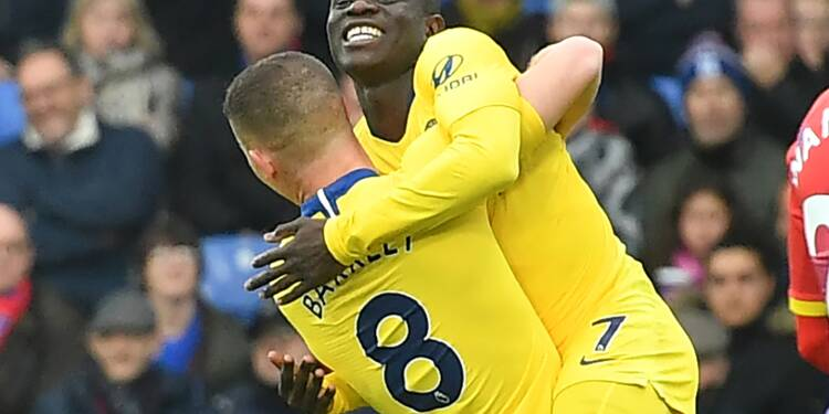 Angleterre: Kanté replace Chelsea
