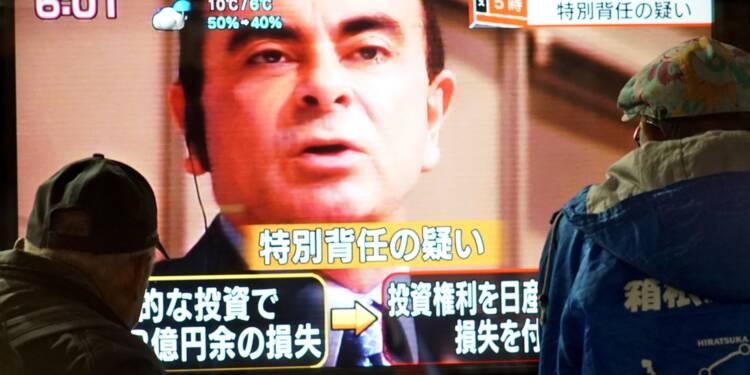 La détention de Carlos Ghosn encore prolongée