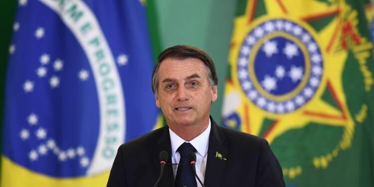 """Brésil: """"pas droit à l'erreur"""" sur l'économie, dit Bolsonaro"""