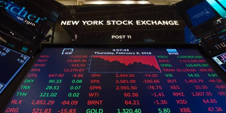 Wall Street, freinée par la Chine, finit en baisse