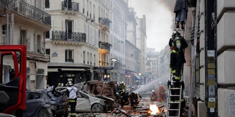 Forte explosion à Paris, des blessés