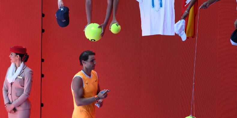 Open d'Australie - Après quatre mois sans compétition, Nadal rassure