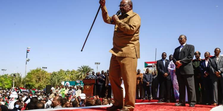 Soudan: Béchir assure que son pouvoir ne cèdera pas à la contestation