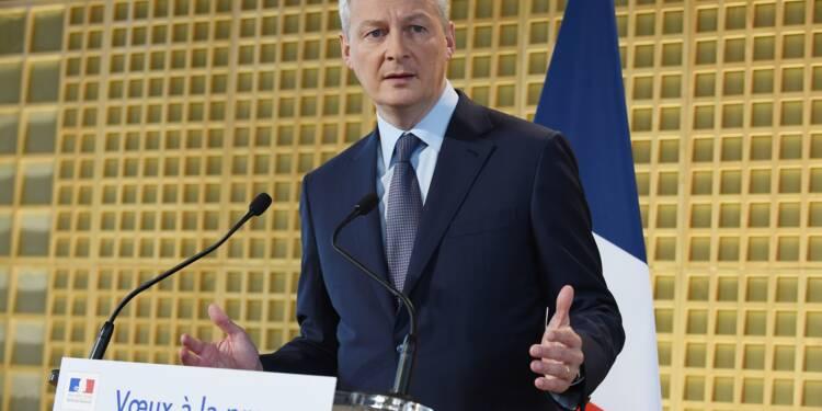 """Renault: """"il y a un pilote dans l'avion"""", assure Le Maire"""