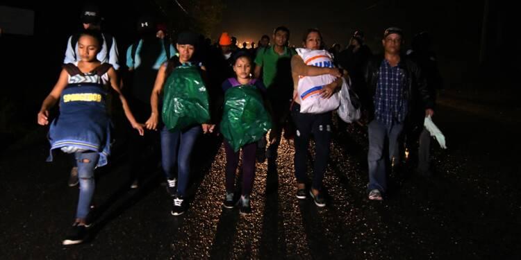 Honduras: un millier de migrants sur la route des États-Unis