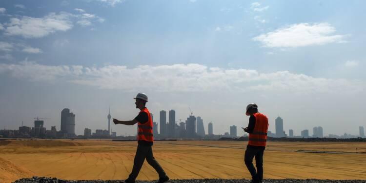 """Routes de la Soie: au Sri Lanka, la Chine finalise une """"cité portuaire"""""""