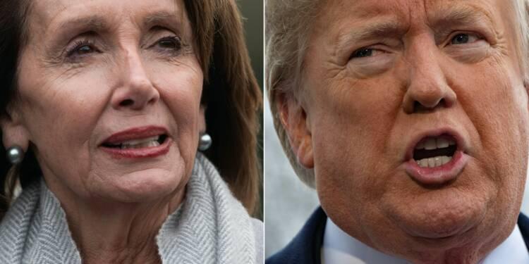 Trump et Pelosi ferraillent autour du discours sur l'état de l'Union