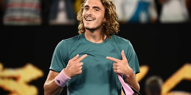 Open d'Australie: Federer détrôné par Tsitsipas, Nadal économise son énergie