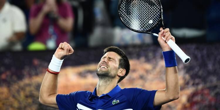 Open d'Australie: Serena et Djokovic ont eu chaud