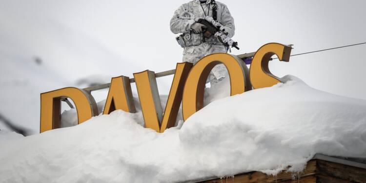 A Davos, l'élite cueillie à froid par des inquiétudes sur la croissance et les inégalités