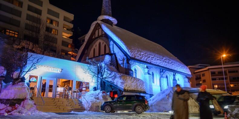 A Davos, même l'église se loue au gratin économique mondial
