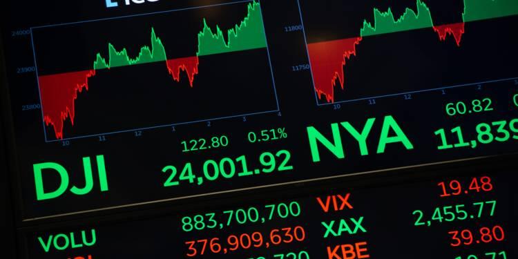 Wall Street soutenue par les résultats d'IBM et United Technologies