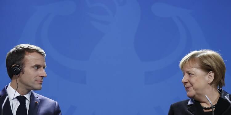 Macron et Merkel tentent de braver l'euroscepticisme ambiant