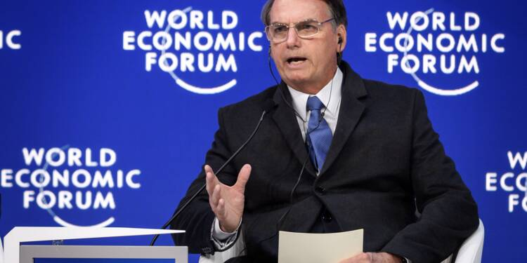 A Davos, Bolsonaro et Pompeo en porte-parole du camp conservateur mondial