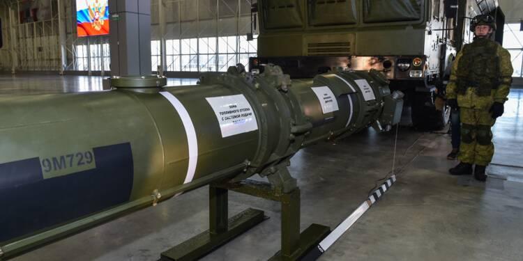 """Traité INF : la Russie assure jouer la """"transparence"""" en présentant son missile controversé"""