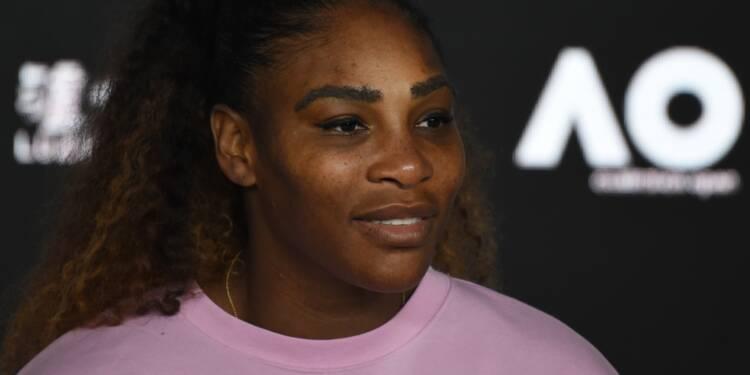 Open d'Australie: Serena Williams battue en quarts malgré 4 balles de match