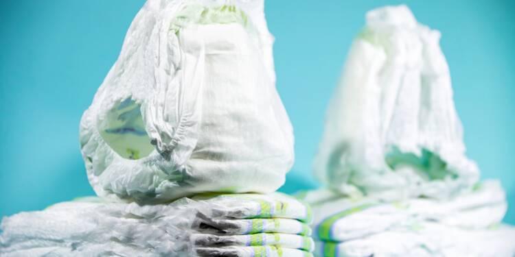 """Couches pour bébés: alerte sur des """"risques"""", les fabricants sommés d'agir"""