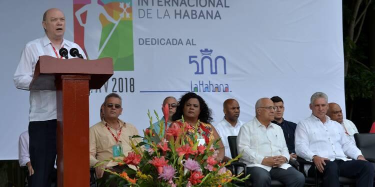 Vision rare à Davos : un ministre cubain en quête d'investissements