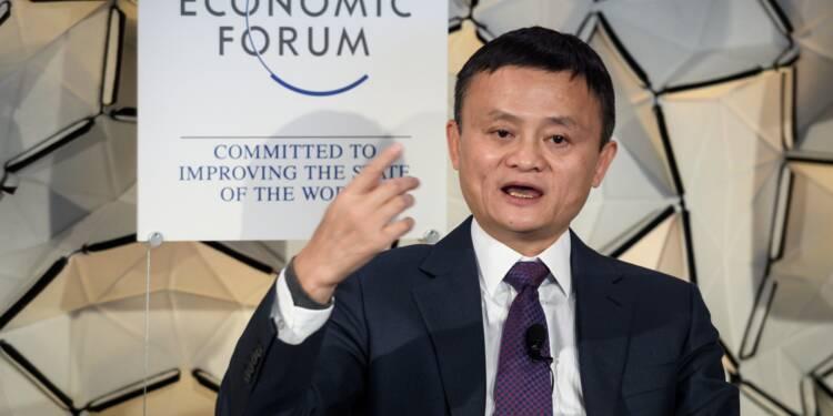 Alibaba: à Davos, Jack Ma salue le potentiel de l'Afrique dans l'e-commerce