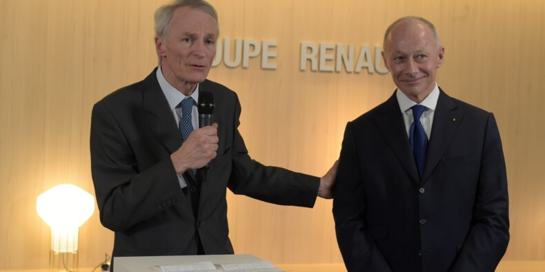 Renault: le tandem constitué de Senard et Bolloré aux commandes