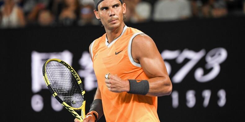 Open d'Australie: Nadal en finale en surclassant Tsitsipas