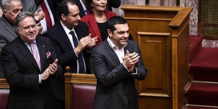 Le Parlement grec approuve le nouveau nom de la Macédoine