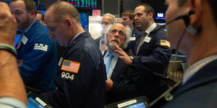 """Wall Street termine en hausse, soutenue par l'accord sur le """"shutdown"""""""