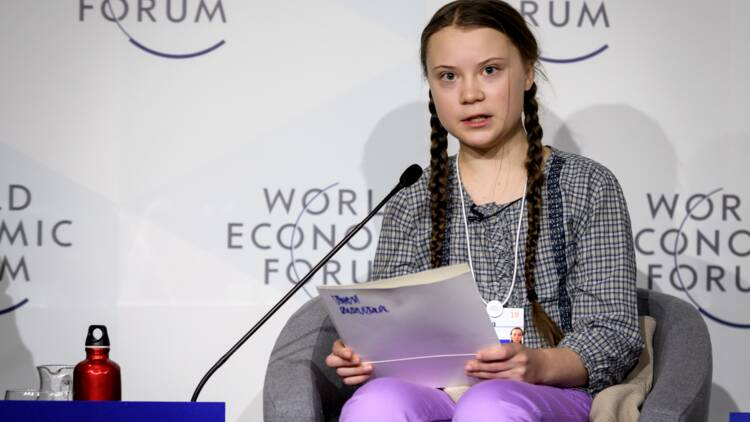 À Davos, Greta Thunberg éclipse patrons et présidents