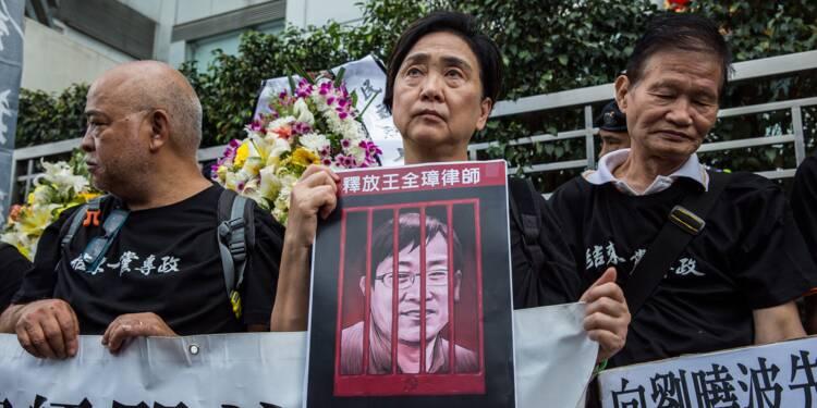 """Droits de l'homme : un avocat chinois en prison pour """"subversion"""""""