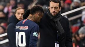 """Paris SG: le retour de Neymar, blessé, attendu """"dans un délai de dix semaines"""" (club)"""