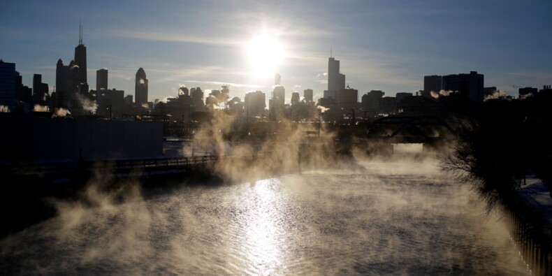 Une vague de froid extrême balaye le nord des Etats-Unis