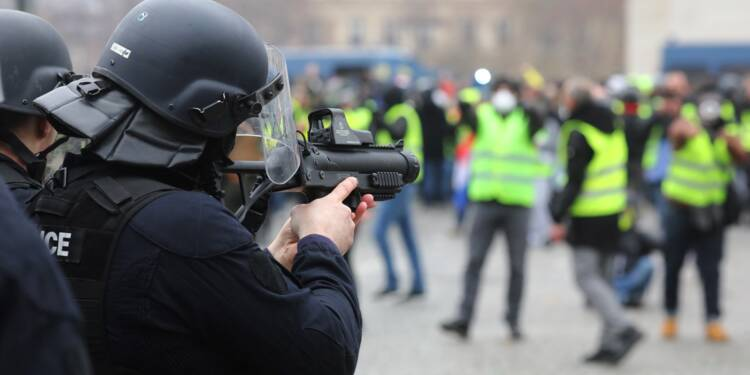 Manifestations: le Conseil d'Etat maintient l'usage du LBD