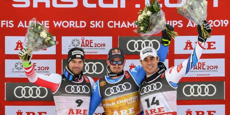 """Mondiaux de ski: """"Papy"""" fait rimer Clarey avec Are"""