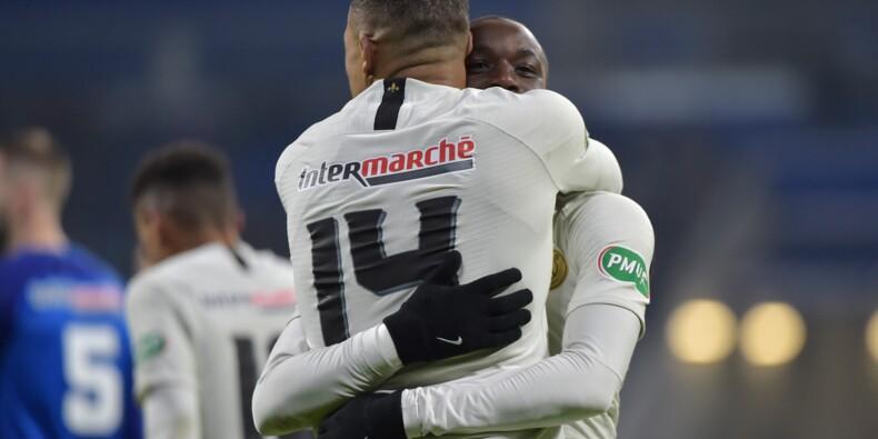 Coupe de France: Paris ne rassure pas, Rennes sort Lille